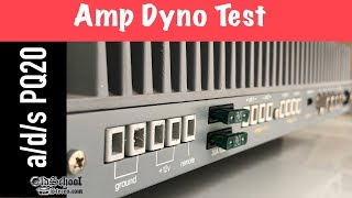 Vintage SQ Amp Tested! a/d/s PQ20 Review and Amp Dyno Test