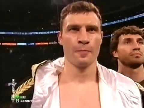 Виталий Кличко против Леннокса Льюиса комм  Гендлин