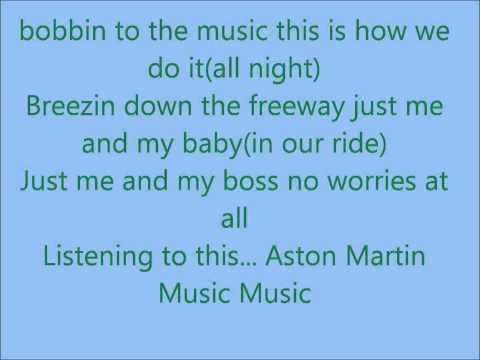 Aston Martin Music Lyrics