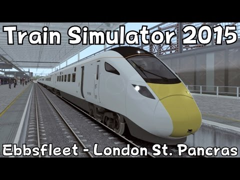Train Simulator 2015: Hitachi Class 801 on Ebbsfleet - London St. Pancras