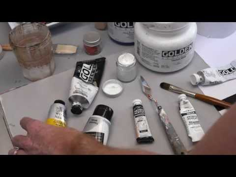 Acrylic White Paint Review (HD)