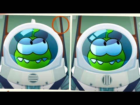 Om Nom Stories - Spot The Difference - Lost in space - Kedoo ToonsTV