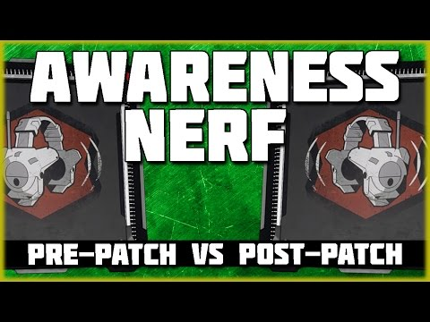 Awareness Nerf! | Pre-Patch vs Post Patch Tests