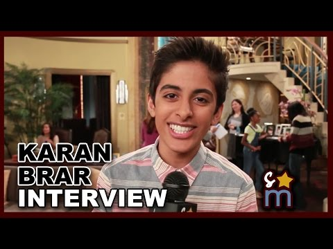 Karan Brar On Set 'Jessie' Interview | How To Save Money ...