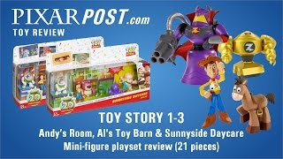Toy Story 20th Anniversary Mini Figure Gift Sets