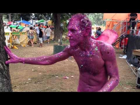 The Pink Man ( Jovis Burk) @Neverland Electronic Music Festival 2013 (Israel)