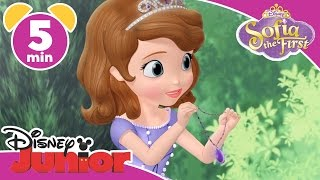 Magical Moments | Sofia the First: Amber's Fancy Dress 🎀 | Disney Junior UK