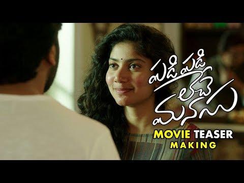 Padi Padi Leche Manasu Telugu Movie Teaser Making | Sharwanand | Sai Pallavi | Hanu Raghavapudi |