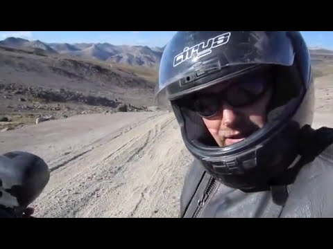 Cotahuasi Canyon on a Honda XR250 Tornado motorcycle