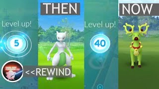 If mystic level 40 is written from the scratch in Pokemon Go!