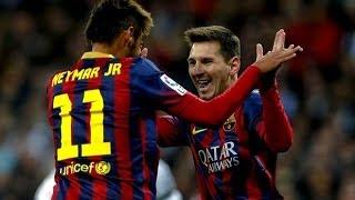 Real Madrid vs Barcelona 3-4 All Goals & Highlights - 23/03/2014   HD
