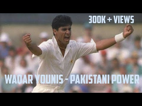 Waqar Younis The Aggressor