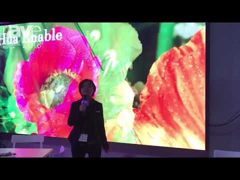ISE 2018: Shenzhen Hua Enable Technologies Shows Off P2.976 LED Display