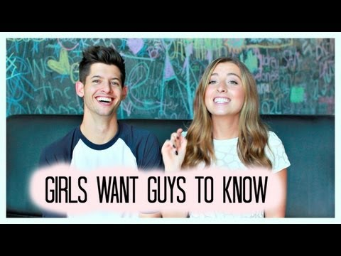 What GIRLS want GUYS to know! Feat. Hunter March