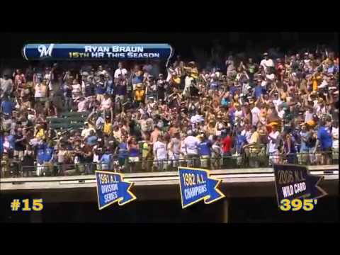 Ryan Braun 2012 Home Runs (HD)