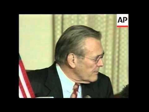 Rumsfeld says major combat activity in Afghanistan has ended