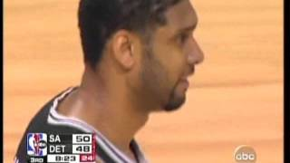 2005 NBA Finals Game 5 (Second Half) San Antonio Spurs Vs Detroit Pistons