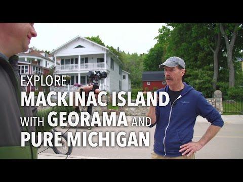 Explore Mackinac Island with Georama and Pure Michigan!