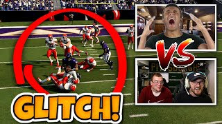 I USED THE NO TACKLE GLITCH VS A TRASH TALKER AND HE LOST HIS MIND!!
