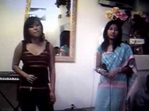 Chaiti & Carissa With Chakma Song video