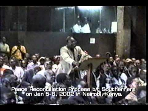 Dr. John garang and Dr. Riek Machar Video Part 2