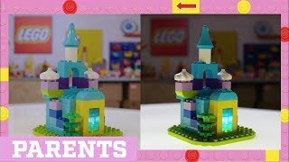 Build a LEGO Bedtime Nightlight that Actually Glows !