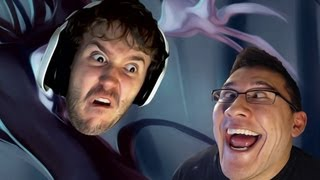 Stop it Slender w/ Markiplier | I AM THE SLENDER MAN!