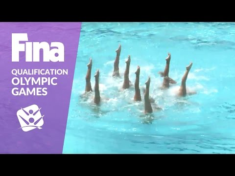 Re-live: Team Free - FINA Synchronised Swimming Olympic Games Qualification - Rio De Janeiro