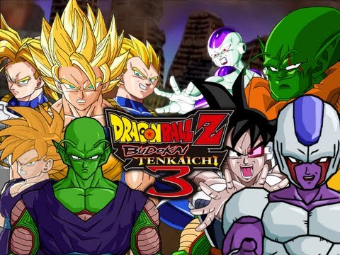DragonBall Z Budokai Tenkaichi 3: Z Fighters VS Ghost Warriors [Team Battle] (Live Commentary)