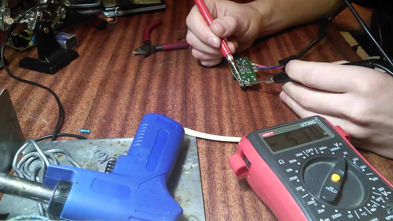 Ремонт своими руками зарядку для телефона 212