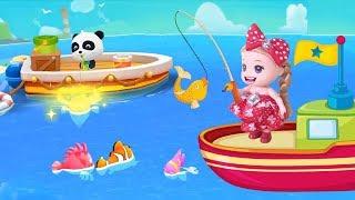 BÚP BÊ BABY CÂU CÁ THẦN KỲ CÙNG GẤU TRÚC Trò Chơi Bé Na