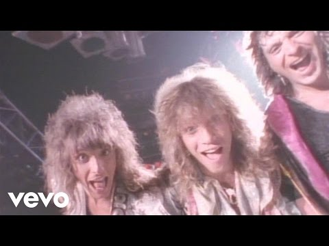 Bon Jovi - You Give Love A Bad Name Music Videos