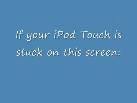 How to fix an iPod Touch stuck on Apple Logo screen