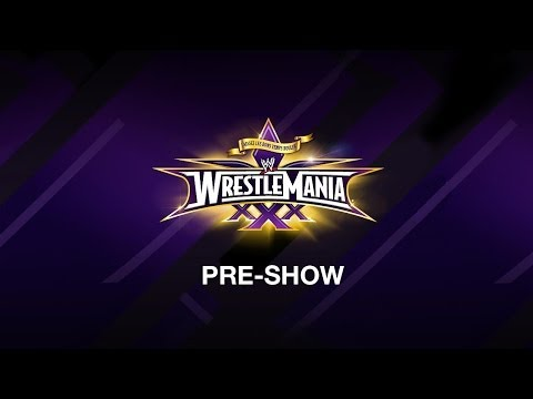 Wrestlemania Pre-show video