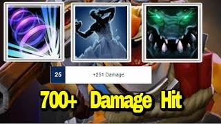 700+ Attack Damages || Ability Draft || Dota 2