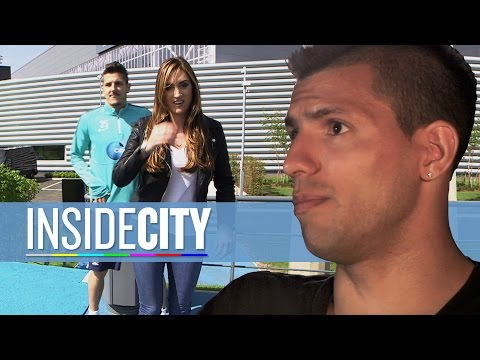 Agüero Speaks English & Jovetic Photo Bombs | Inside City 153