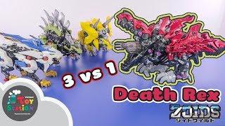 ZW12 ZOIDS khủng long bạo chúa siêu khủng có thể 1 VS 3 ToyStation 368