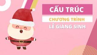 Cấu trúc lời dẫn chào mừng đầu tiên của MC chương trình Noel