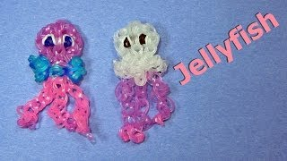 Rainbow Loom: JELLYFISH Charm: How to Design / Tutorial (DIY Mommy)