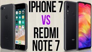 iPhone 7 vs Redmi Note 7 (Comparativo)