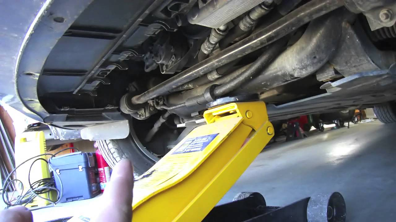 How To Safely Jack Up A Bmw E46 Using The Proper Lifting