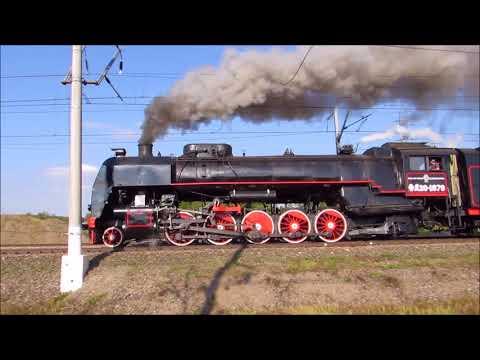 Паровозы на ЭКСПО-1520 / Steam locomotives on EXPO1520