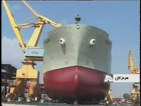 Iran launches indigenous ocean-going tanker ship