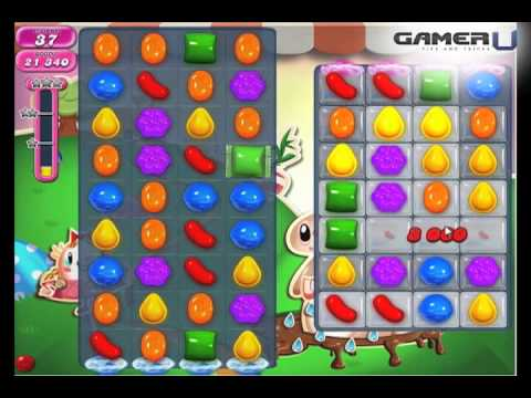 Candy Crush Saga - How to Pass Level 70 (with commentary)