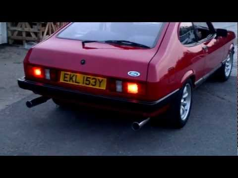 Twin Turbo V6 Cosworth Tornado engine Capri