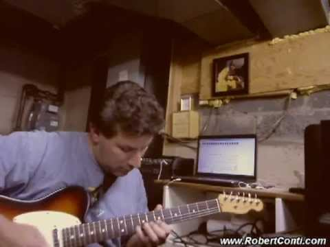Dave Ruggiero - Autumn Leaves Jazz Guitar Solo by Robert Conti