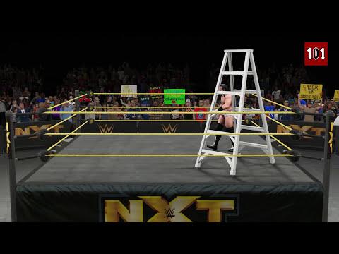 WWE 2K15 - Top 10 High Flying LADDER Moves! (Alternative Version) [WWE 2K15 Countdown]