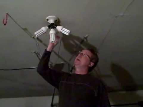 Garage Lighting Ideas 3 Bulb Light Socket For Garage