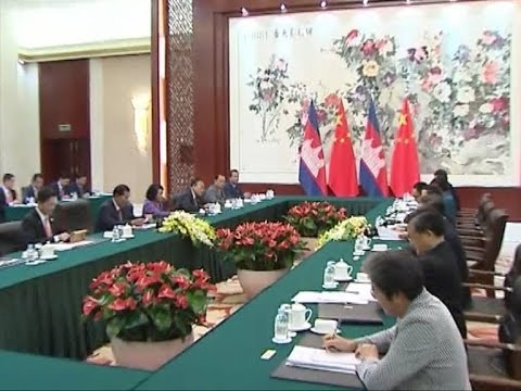 Hun Sen PrimeMinister  In China 18to25 May 2014 TVK