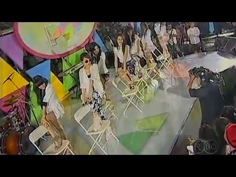 7 ICONS - Tahan Cinta at TOP POP MNCTV (28-05-2013)